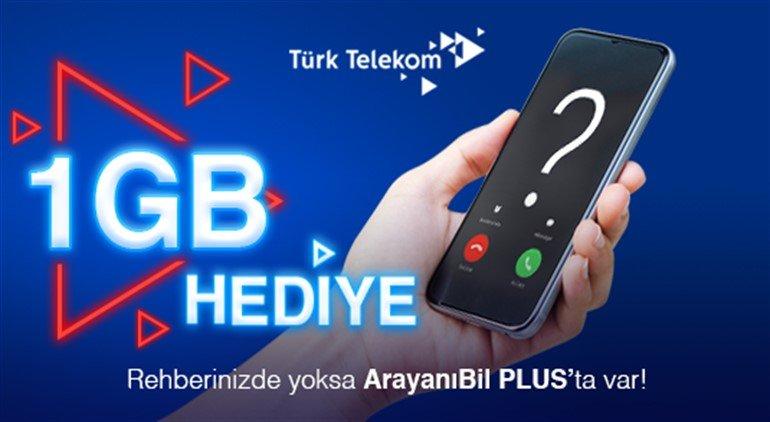 türk telekom hediye internet paketi