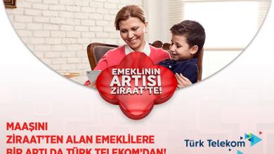 Photo of Türk Telekom Ziraat Bankası Emekli Tarife Kampanyası