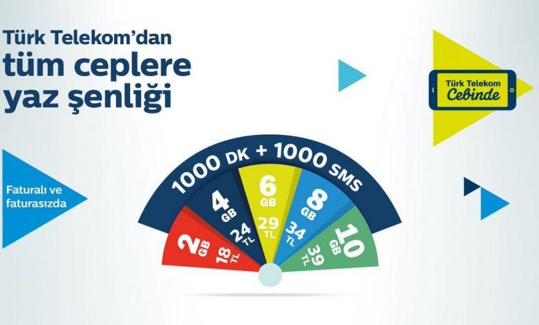 türk telekom fırsat paket tarifeler