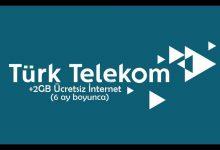 Türk Telekom Hediye İnternet Servisi