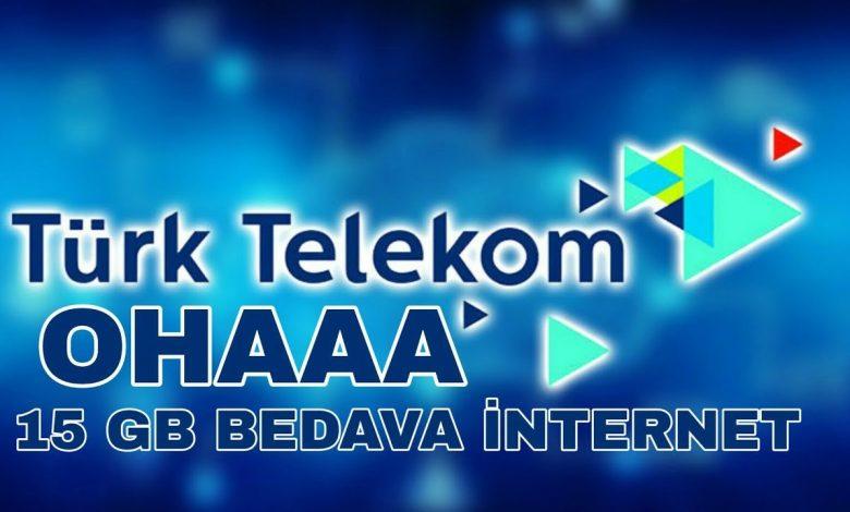 türk telekom bedava internet ayarları