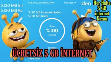 turkcell bedava internet 2222 sms kodu