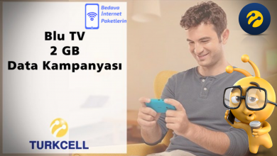 Photo of Turkcell BluTV Mobil Ödeme 2 GB İnternet Paketi