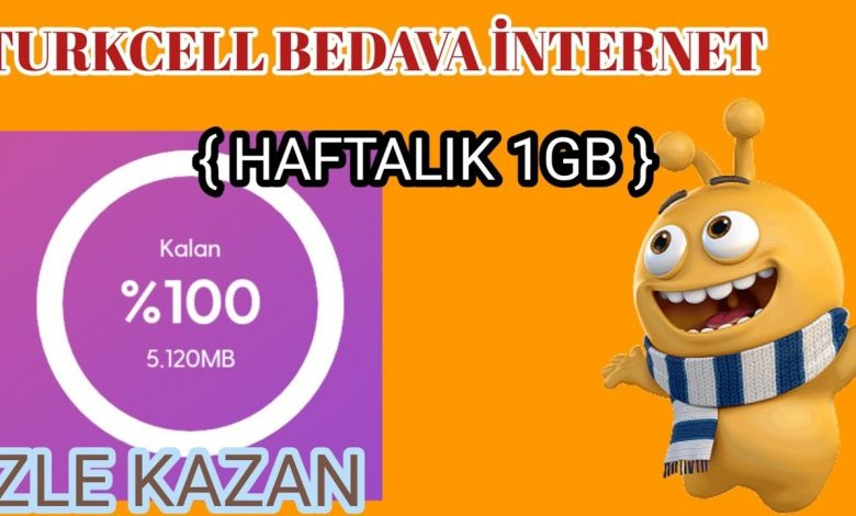 türkcell lifecell paycell gnc bedava internet