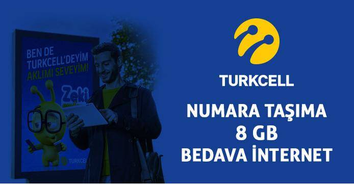 Photo of Numaranı Turkcell'e Taşı 8 GB Bedava İnternet Kazan
