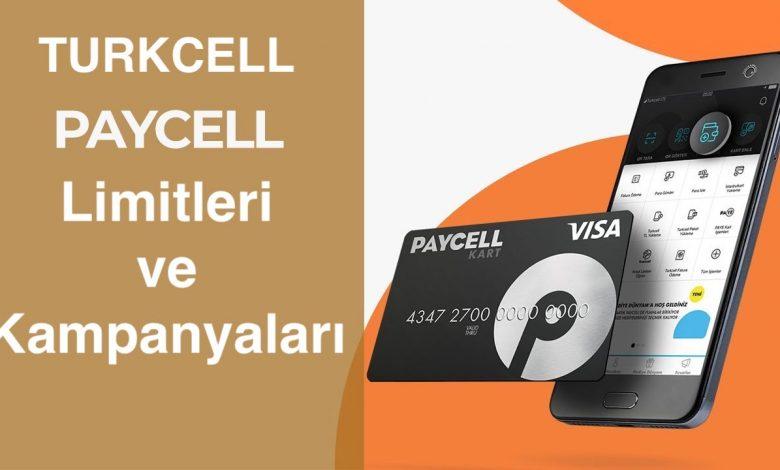 Turkcell Paycell Limitleri ve Kampanyaları