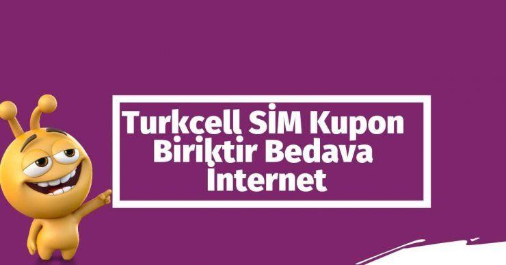 Photo of SİM Kupon Biriktir Turkcell Ücretsiz İnternet Kazan