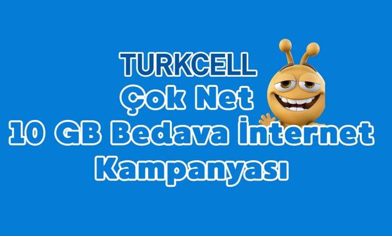 türkcell ücretsiz internet kampanyaları