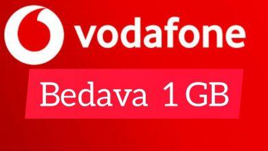 Vodafone Hediye İnternet
