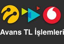 Avans TL İsteme: Turkcell, Vodafone ve Türk Telekom