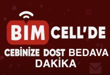 Bimcell Bedava (Hediye) Dakika