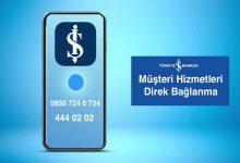 İş Bankası Müşteri Hizmetleri Numarasına Direk Bağlanma