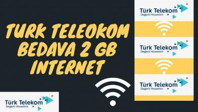 Türk Telekom Haftalık ve Aylık Bedava İnternet