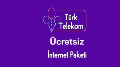 Türk Telekom Ücretsiz İnternet