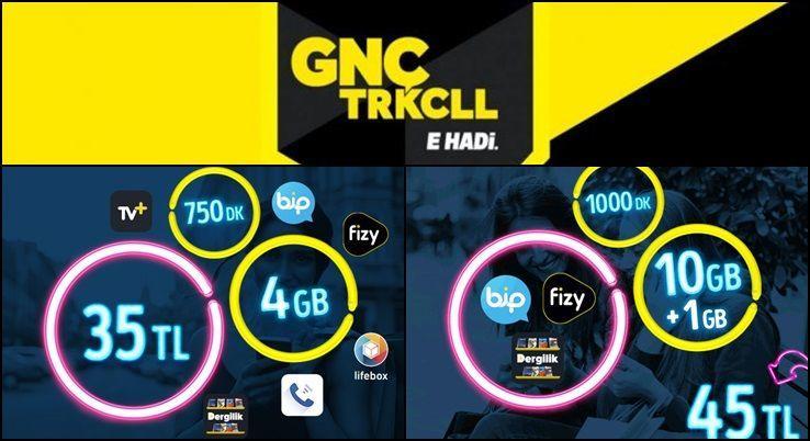 Photo of Turkcell GNÇ 2019 Faturalı Tarife Fiyatları