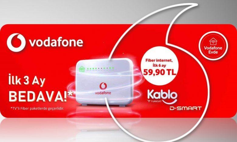 Vodafone Sınırsız Ev İnterneti Kampanyası
