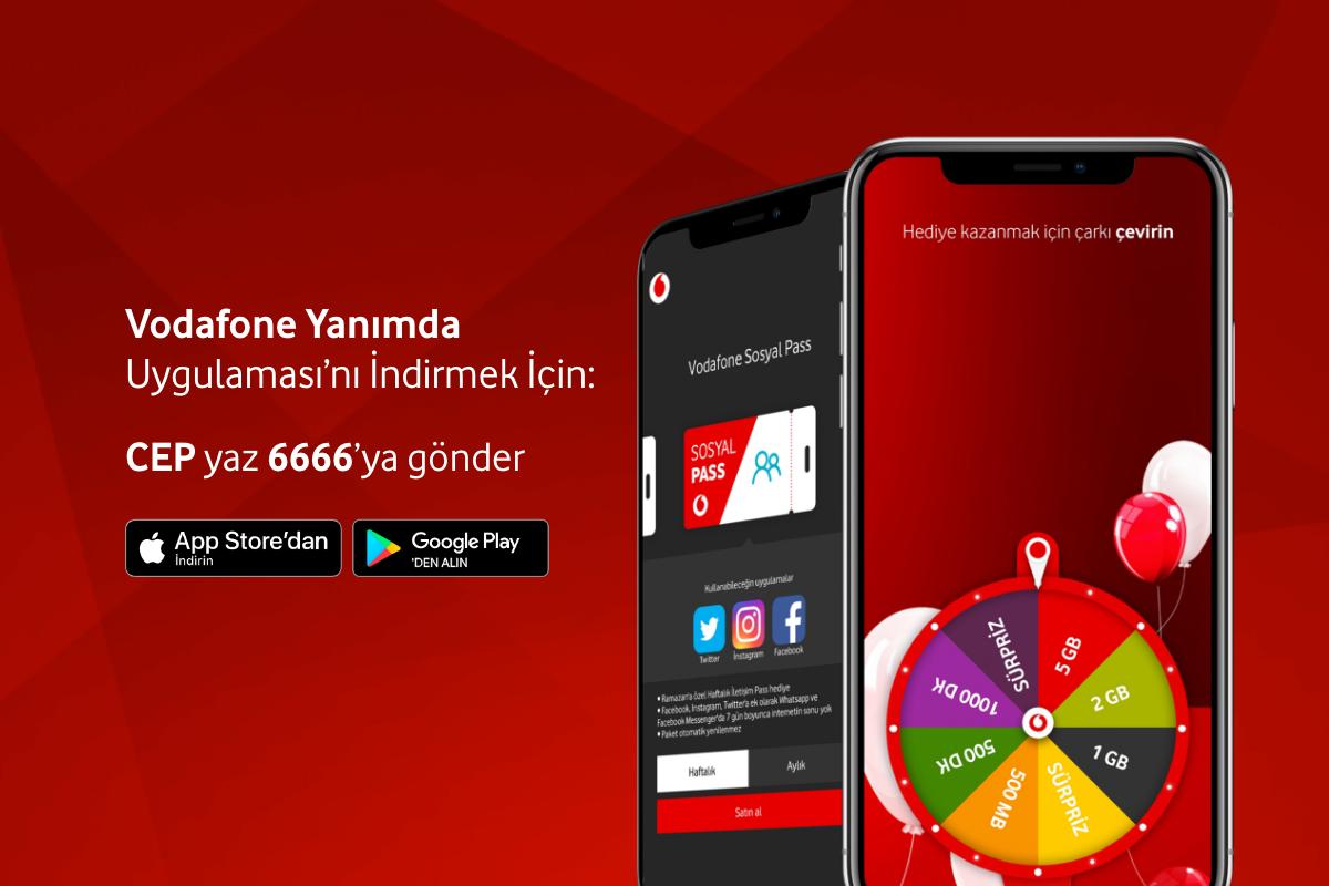 Photo of Vodafone Yanımda Uygulaması İle Bedava İnternet