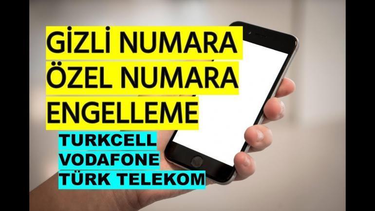 Telefon Numarasi Gizleme Ve Engelleme Haberler