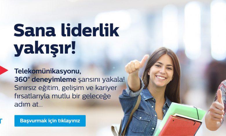 Türk Telekom Start ile Yetenekli Stajyer Gençlere Kariyer