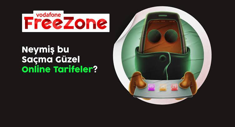 Vodafone Freezone Saçma Güzel Tarife Paketleri