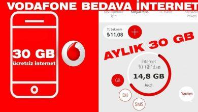 Photo of Vodafone Sevdikleriniz için 30Gb Hediye İnternet Nedir?