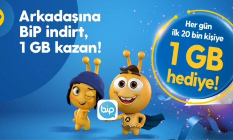 Turkcell Bip Bedava İnternet 2020