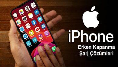 iPhone Erken Kapanma ve Şarj Almama Sorun Çözümleri