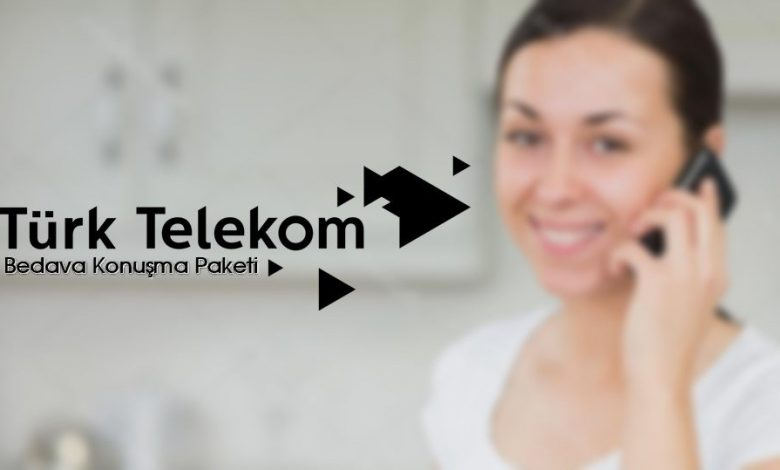 türk telekom bedava dakika konuşma paketi