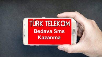 Türk Telekom Bedava Sms Kazanma