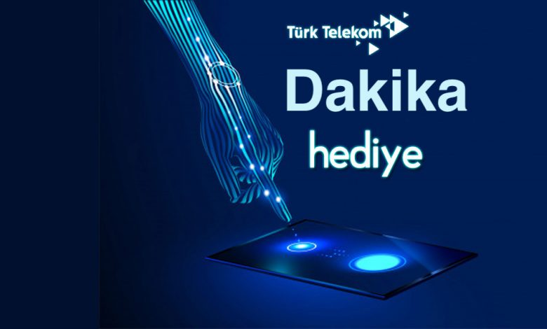 Türk Telekom Hediye Dakika Kazanma