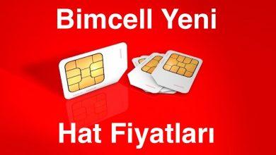 Bimcell Yeni Hat Fiyatları