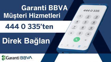 Garanti BBVA Bankası Müşteri Hizmetlerine Direk Bağlanma