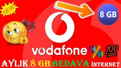 Photo of Vodafone Bedava İnternet 2020 Kampanyası