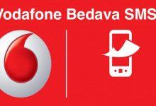 Vodafone Bedava SMS Ücretsiz Mesajlaşma