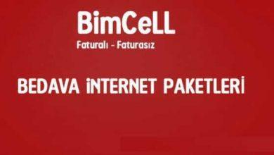 Bimcell Bedava İnternet 30 GB Paket Hilesi