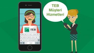 TEB Müşteri Hizmetleri Telefon Numarasına Direk Bağlanma