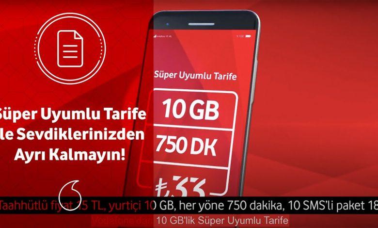 Vodafone Faturalı Tarifelerde En Avantajlı Paketler