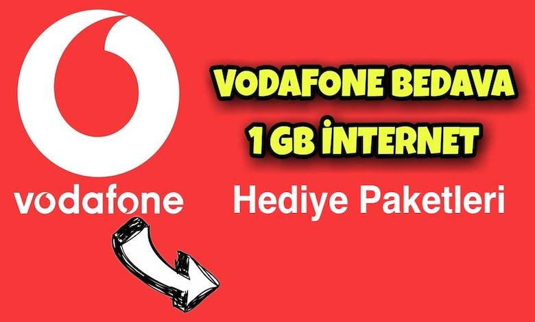 Vodafone Hediye İnternet Paketleri