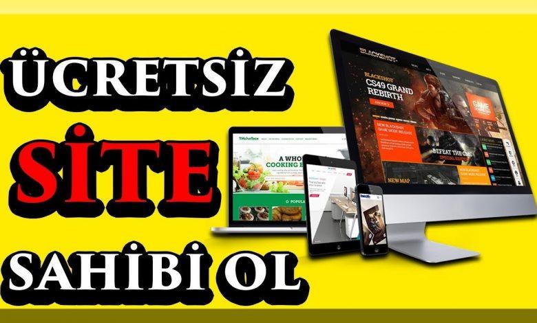 Bedava Web Sitesi Kurma: Ücretsiz Hosting ve Domain Alma