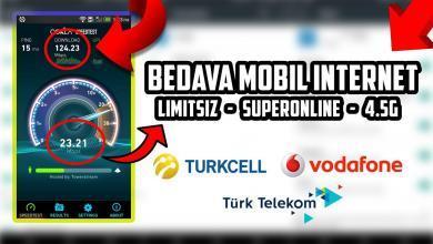 Photo of Bedava İnternet 2020 Hediyesi Turkcell, Vodafone, Türk Telekom