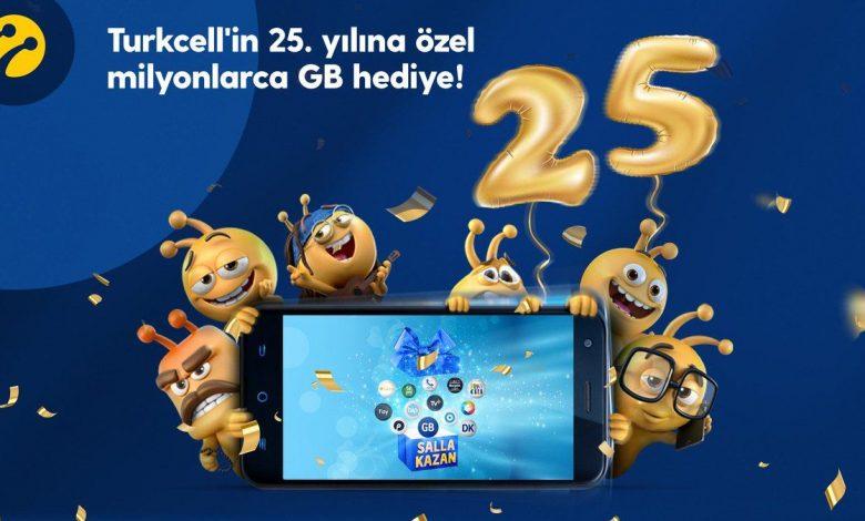 salla kazan turkcell bedava internet