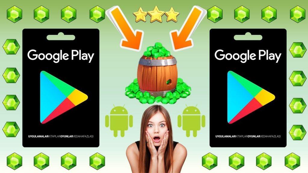 ücretsiz google play kodu hediyeleri