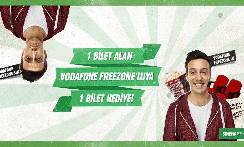 Photo of Vodafone Freezone Sinema Bileti 2020 Kampanyası