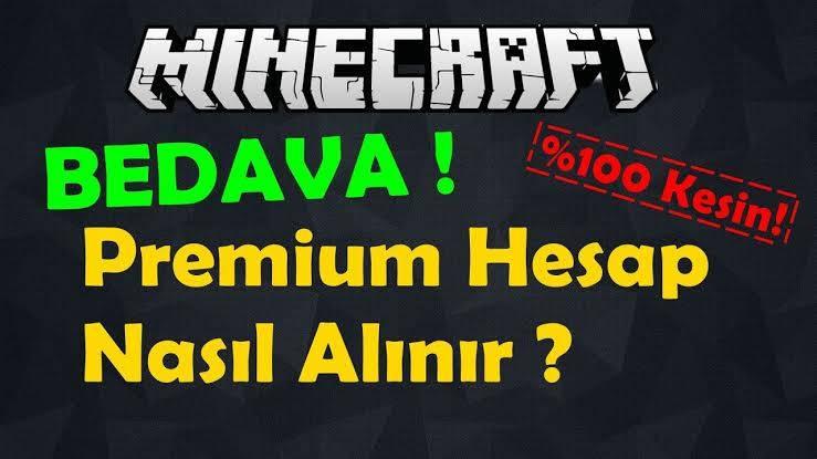 bedava minecraft premium hesapları