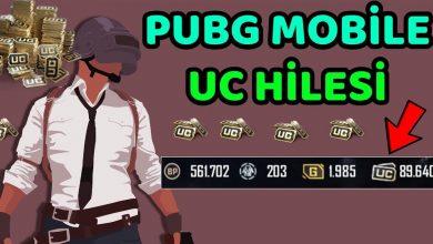 PUBG Mobile Bedava Uc Kodları (e-pin) Hilesi