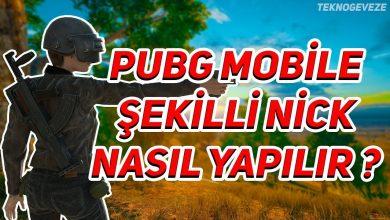 Photo of PUBG Mobile Havalı İsimler Şekilli Nickler Nasıl Yapılır?