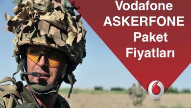 Vodafone Askerfone Hat Fiyatları ve Asker Tarife Paketleri