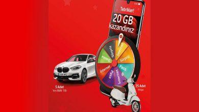 Vodafone Çekiliş Kampanyası Ödülleri ve Başvuru Şartları