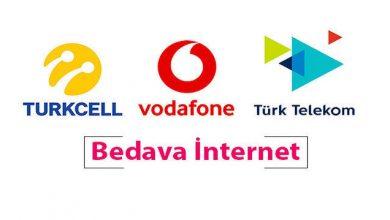 Photo of Nisan 2020 Bedava İnternet Turkcell, Vodafone, Türk Telekom