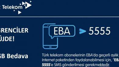 Photo of Türk Telekom EBA 8 GB Bedava İnternet Nasıl Yapılır?